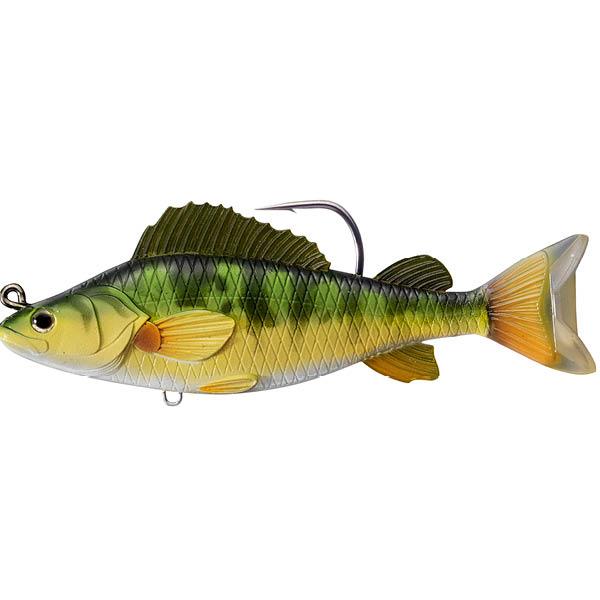 """Yellow Perch 5 1/2"""" Swimbait"""
